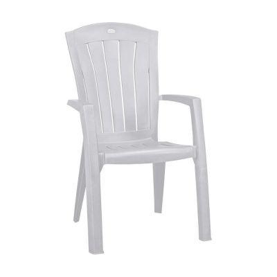 Bazkar Krzesło Ogrodowe Santorini Cu220576 Białe